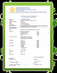 Isi : 60 kapsul No. Standarisasi: Q / BM 01-2003 No. LISENSI KESEHATAN: WSJZ (2003) N0. 0568 Diproduksi oleh: GuangZhou Biolo Bio-Technology Co.Ltd. Diimpor oleh: PT. Woo Tekh Indonesia.